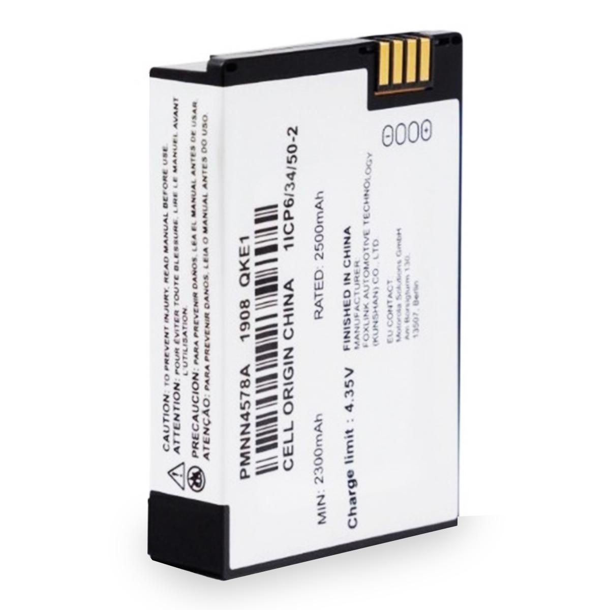 Batería Motorola Li-Ion 2500 mAh para radio DTR720 PMMN4578A