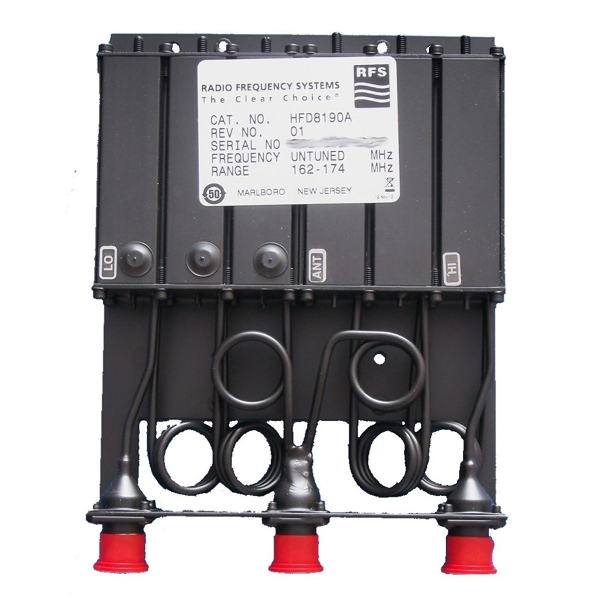 Duplexer RFS para repetidora HFD8190A