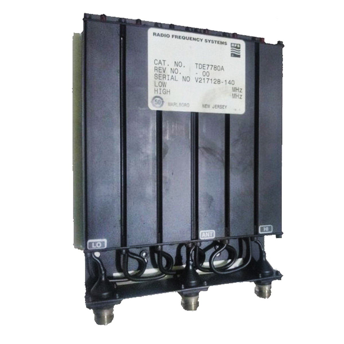 Duplexer RFS para repetidora TDE7780A