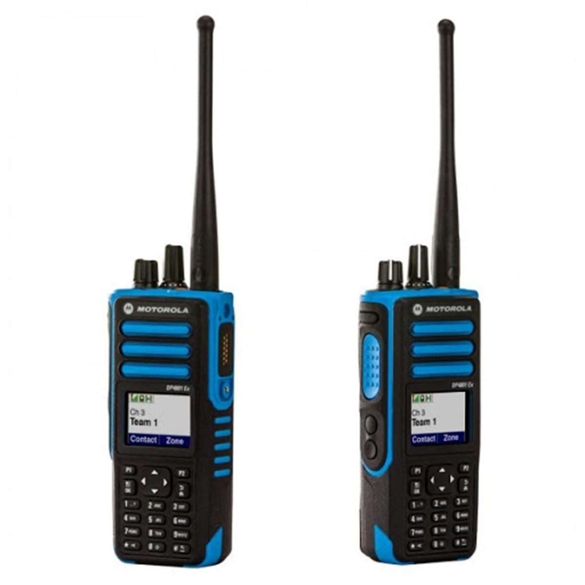 Radio Motorola DGP8550EX Digital Intrínsecamente Seguro