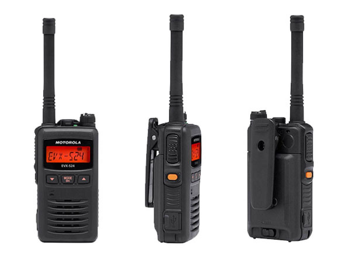 Radio Motorola EVX-S24 Digital UHF 403-470 MHz