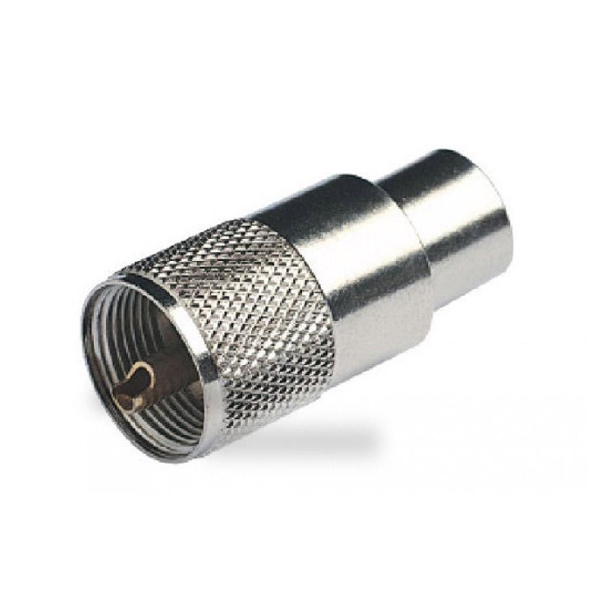 Conector de RF PL-259 para cable coaxial RG8 y RG58 PL-259