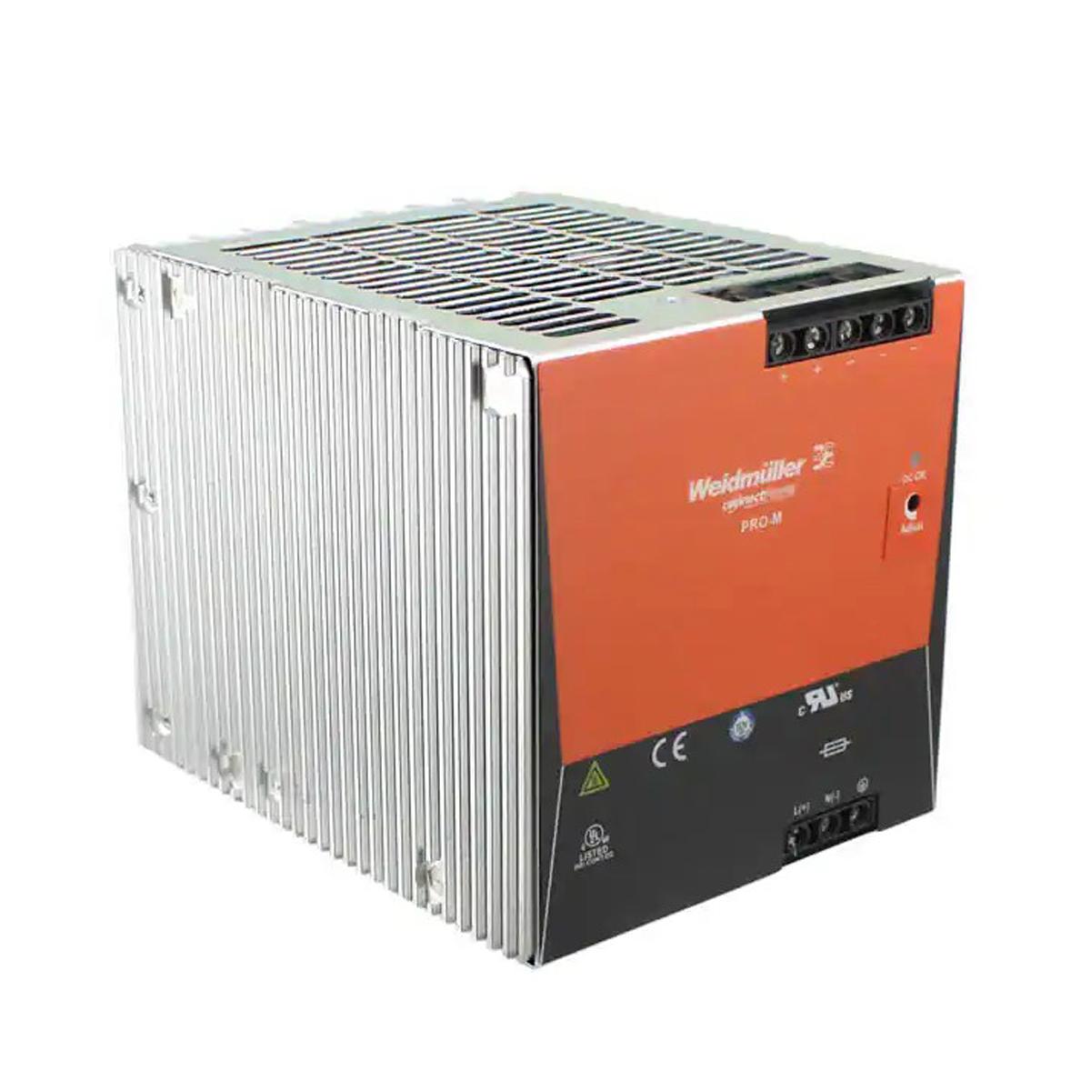 Fuente de poder DIN PS24 480 W para cámaras de seguridad AXIS
