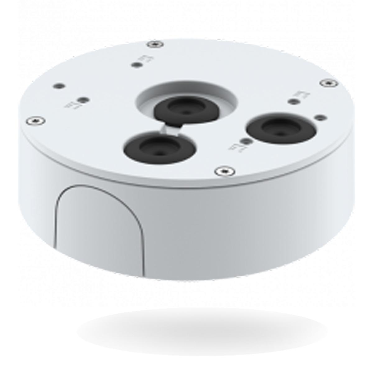 Caja para montaje en superficie Axis T94S01P para cámaras de seguridad domo y bullet