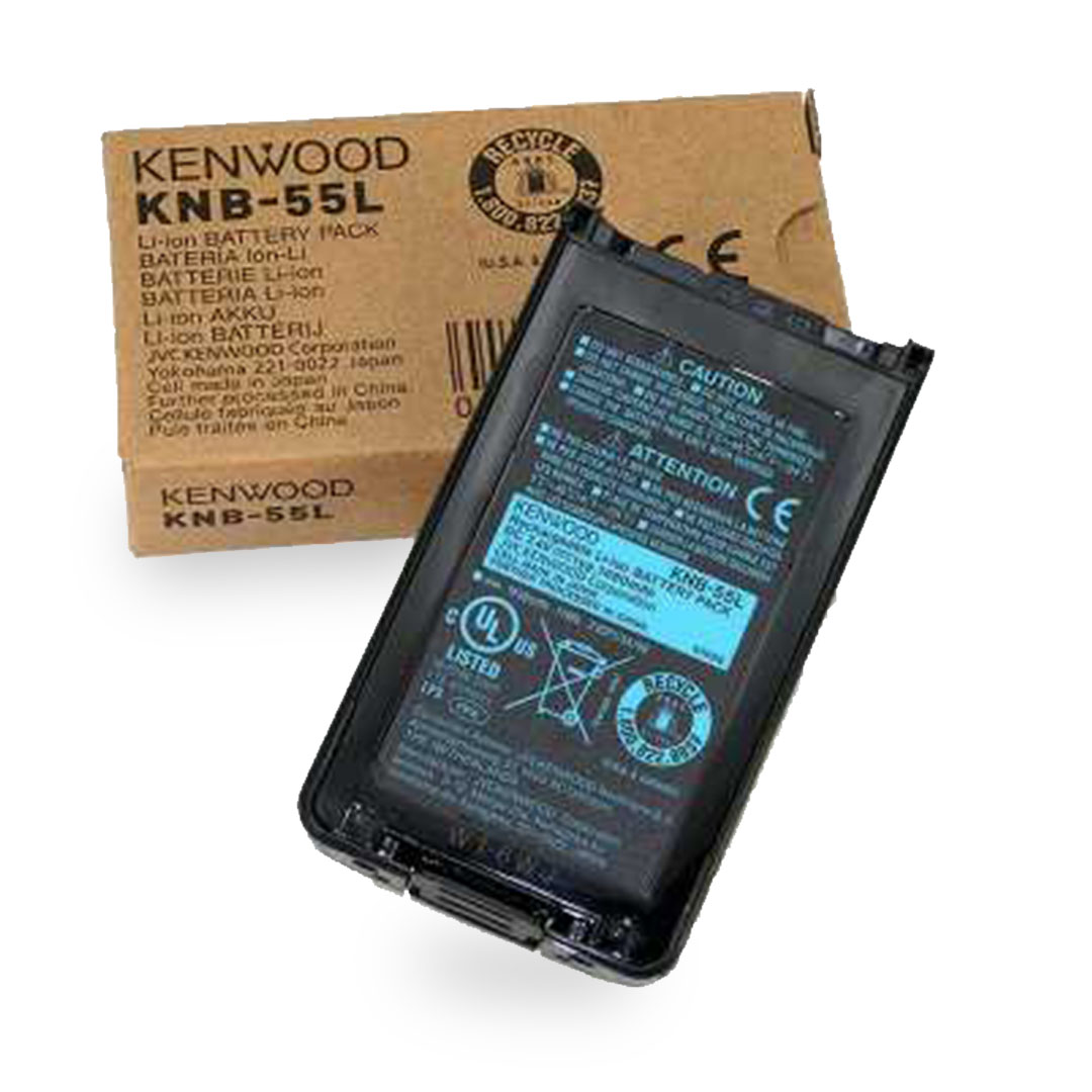 Batería KENWOOD Li-Ion 1480 mAh para radio NX-3200-3300 KNB-55L