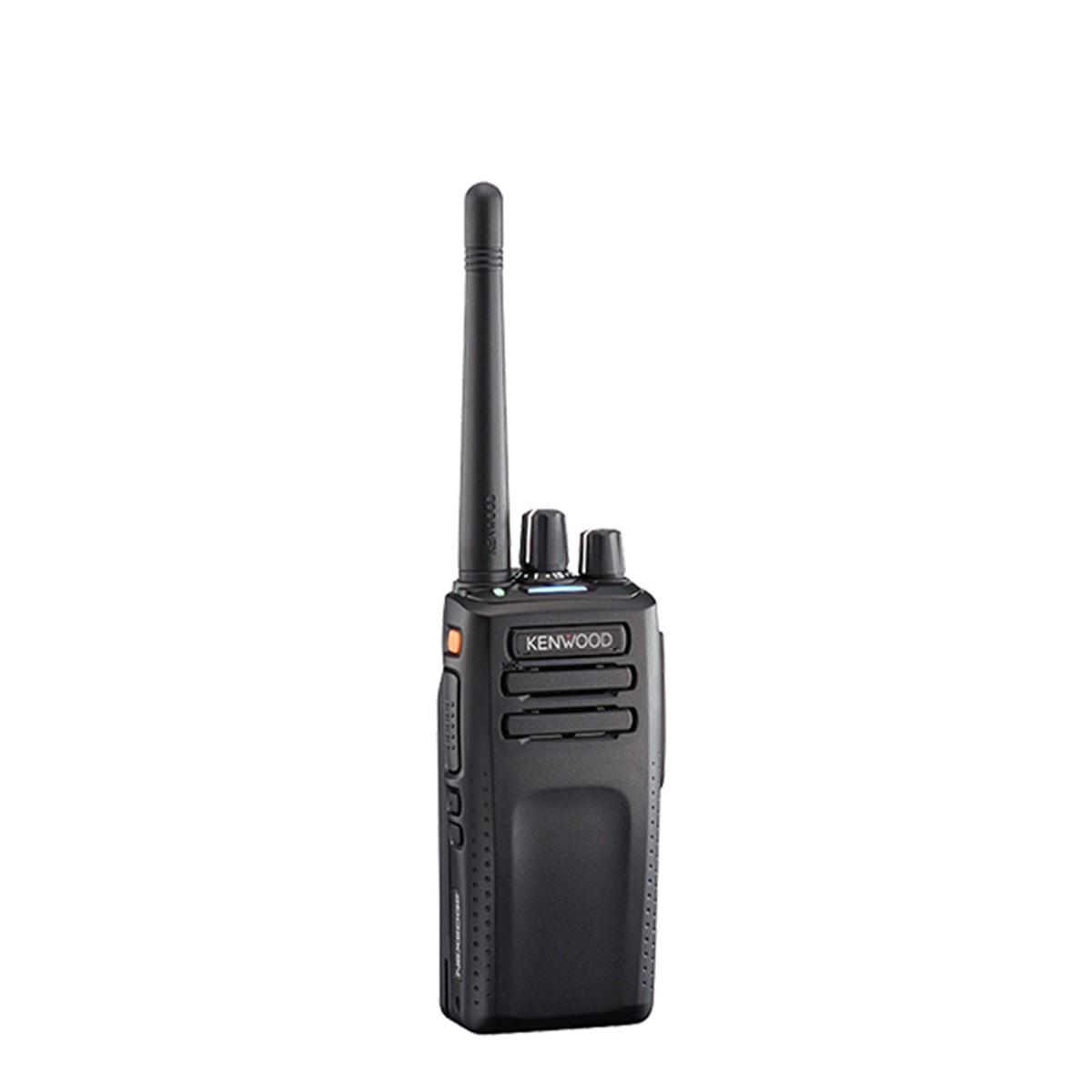 Radio KENWOOD NX-3300 Digital UHF 400-520 MHz sin pantalla y sin teclado