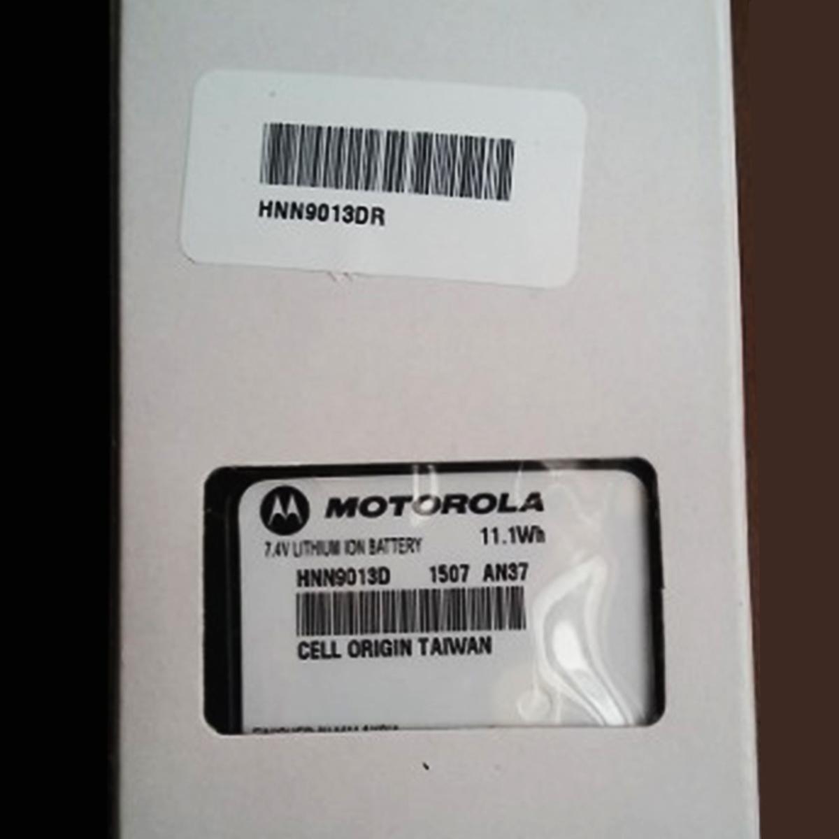 Batería Motorola Li-ion 1500 mAh para radios serie PRO HNN9013D HNN9013D