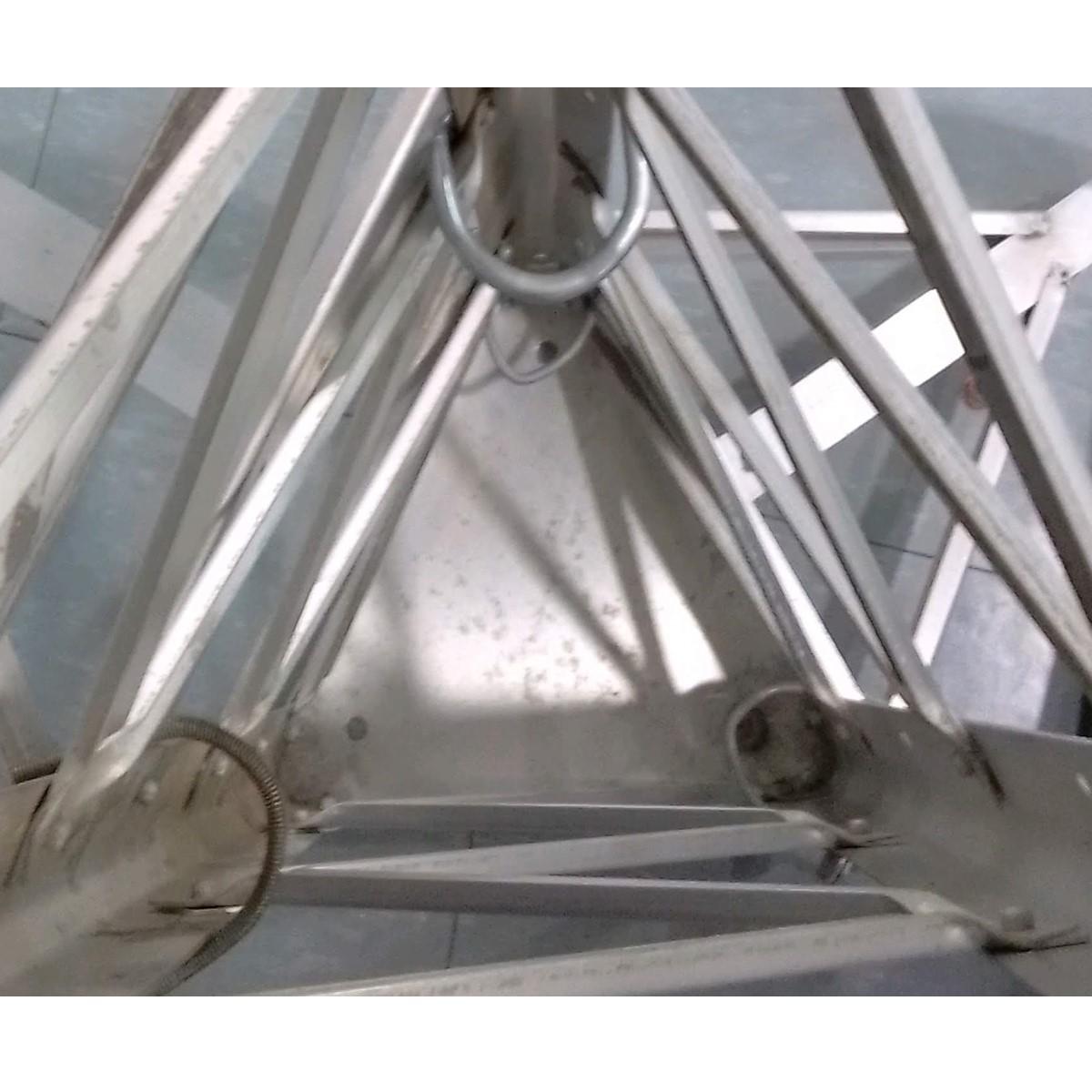 Kit Base-Tope-Intermedio para torre ventada