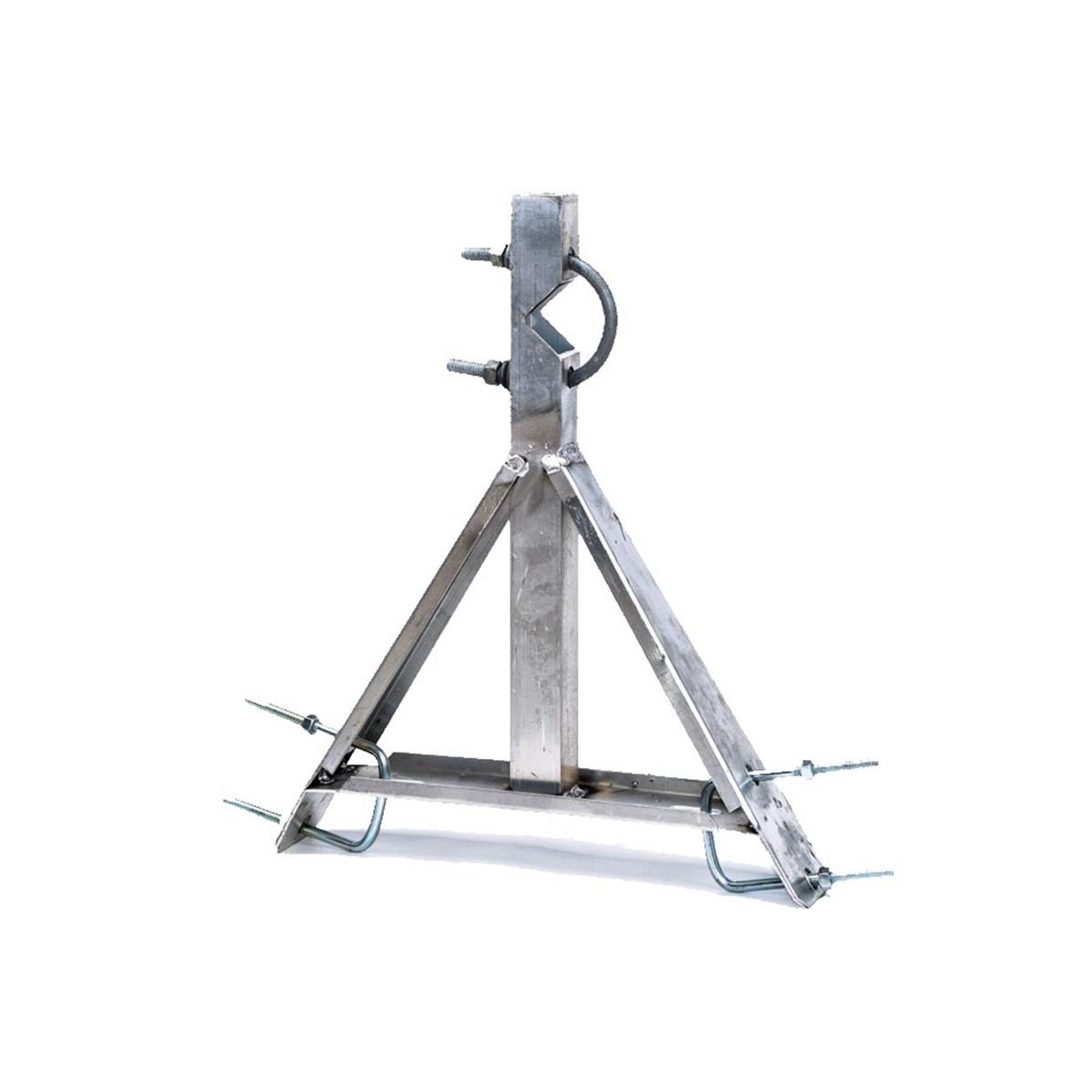 Soporte lateral de antena para torre ventada