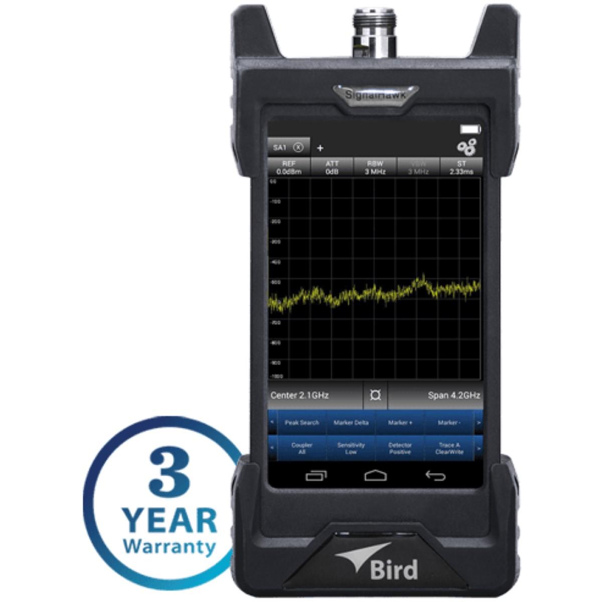 Analizador de Espectro BIRD RF SH-42S-TC Signal Hawk