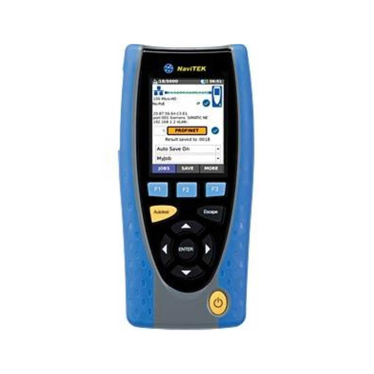 Comprobador de cobre y fibra para redes Ethernet industriales IDEAL NAVITEK IE R151010NAVITEK-IE