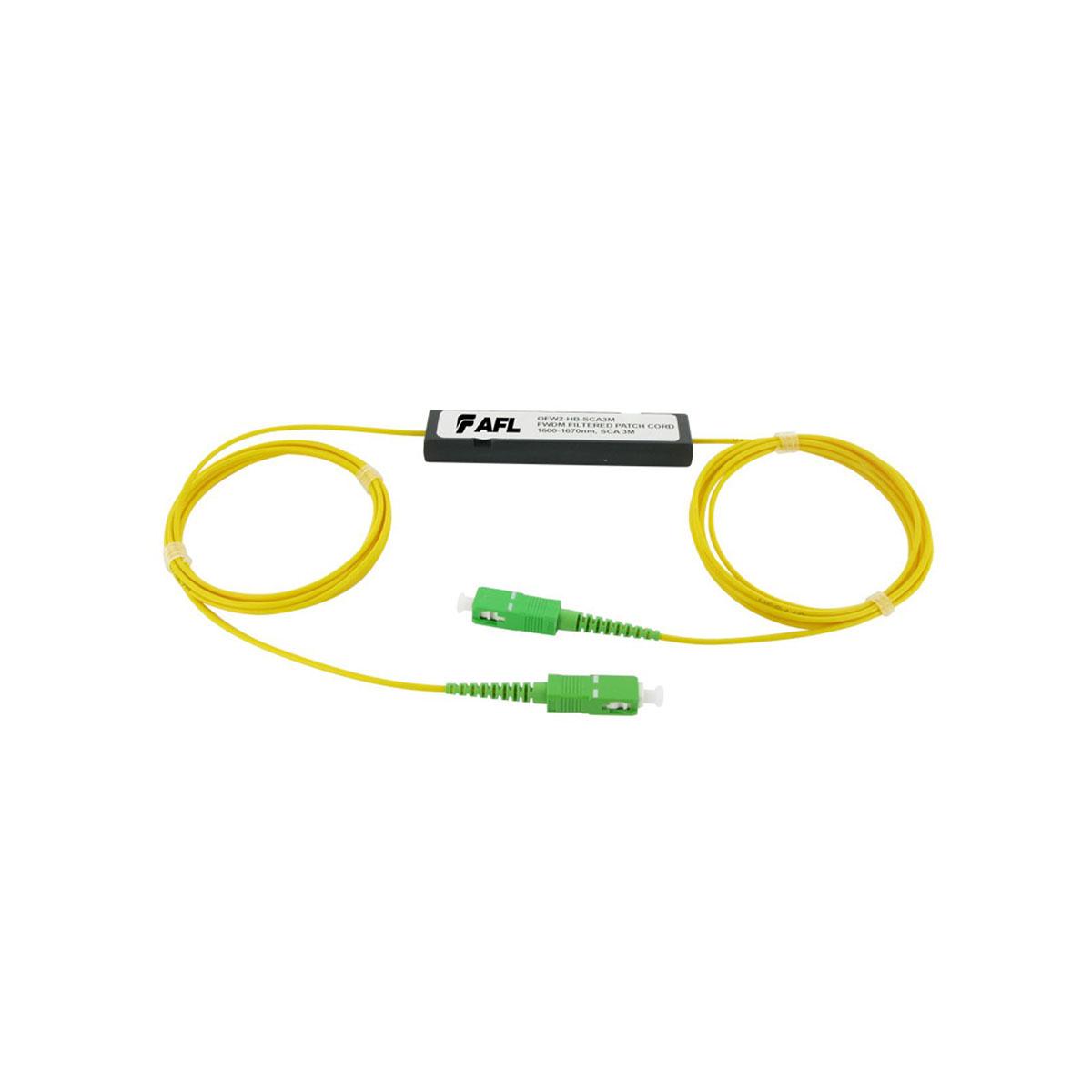 Filtro optico de fibra vivo AFL de 1625 nm OFW2-HB-SCA3M
