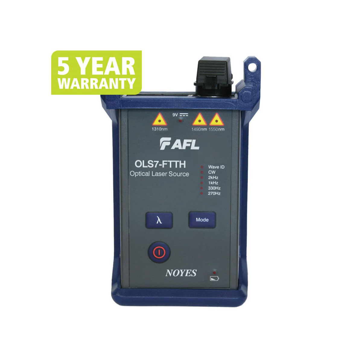 Fuente láser de fibra óptica AFL OLS7