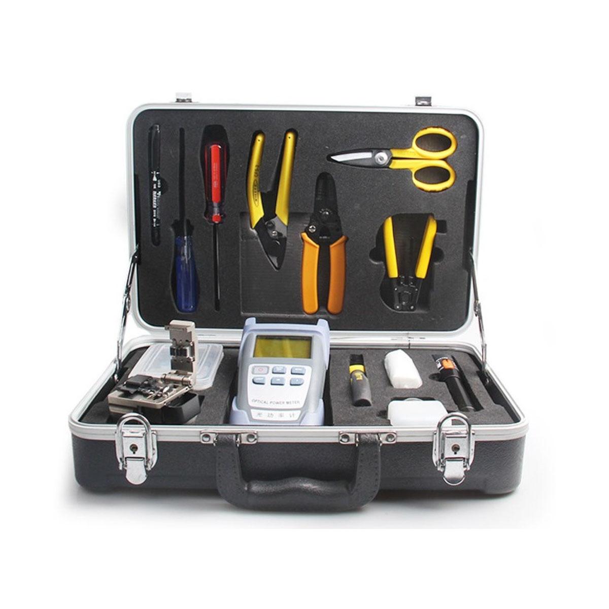 Kit de herramientas de fibra optica FTTx OREN OR-6800