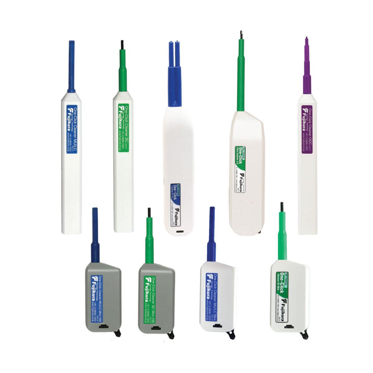 Limpiadores de conectores de fibra optica AFL One-Click