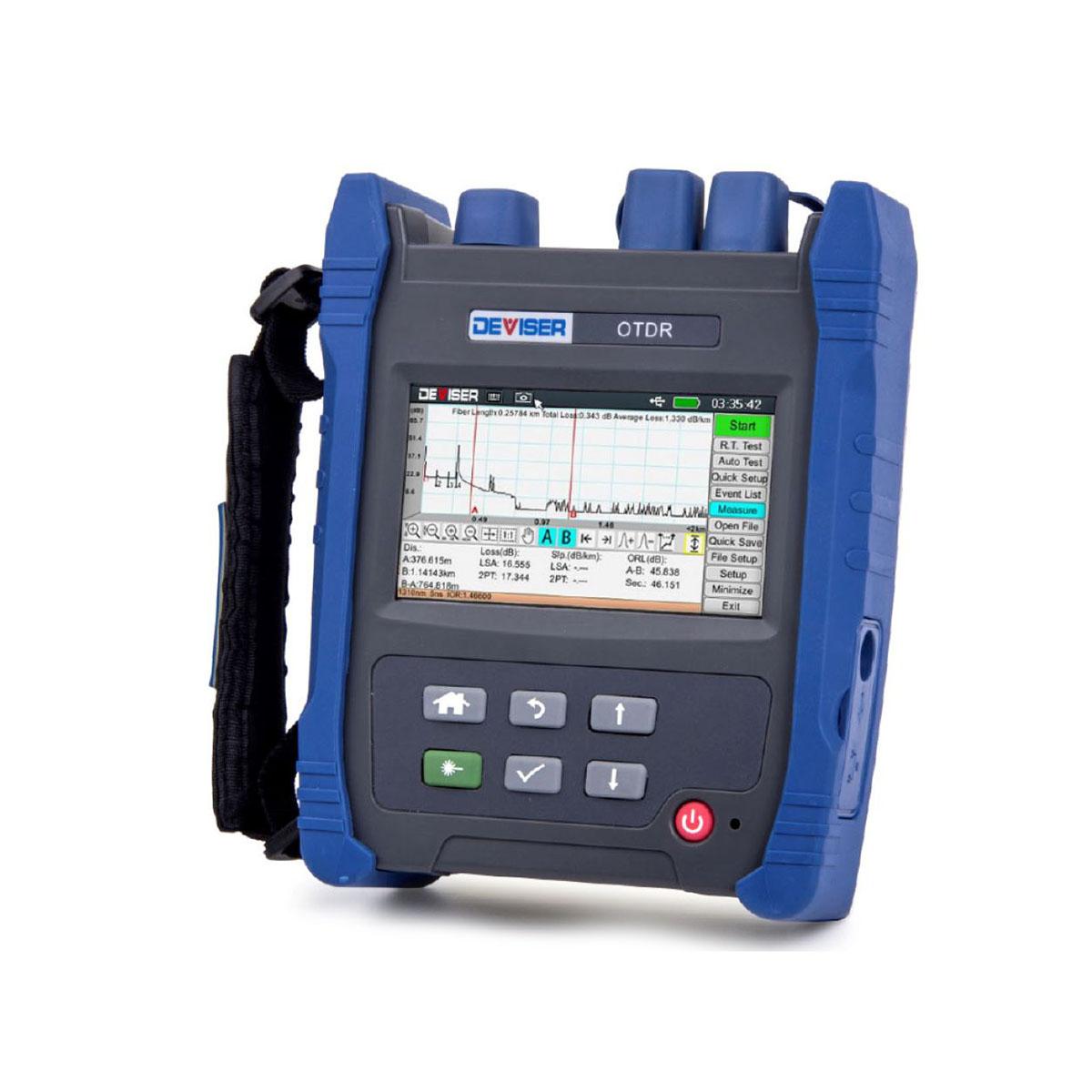 OTDR FTTx RFoG DEVISER AE1001 Localizador de Fallas
