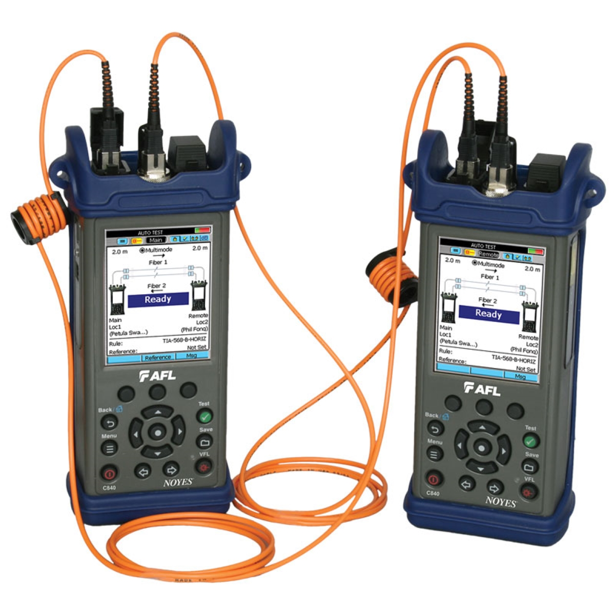 Kits de prueba de pérdida óptica AFL SLP5-6D y SLP5 ROGUE-RGK-CERT01