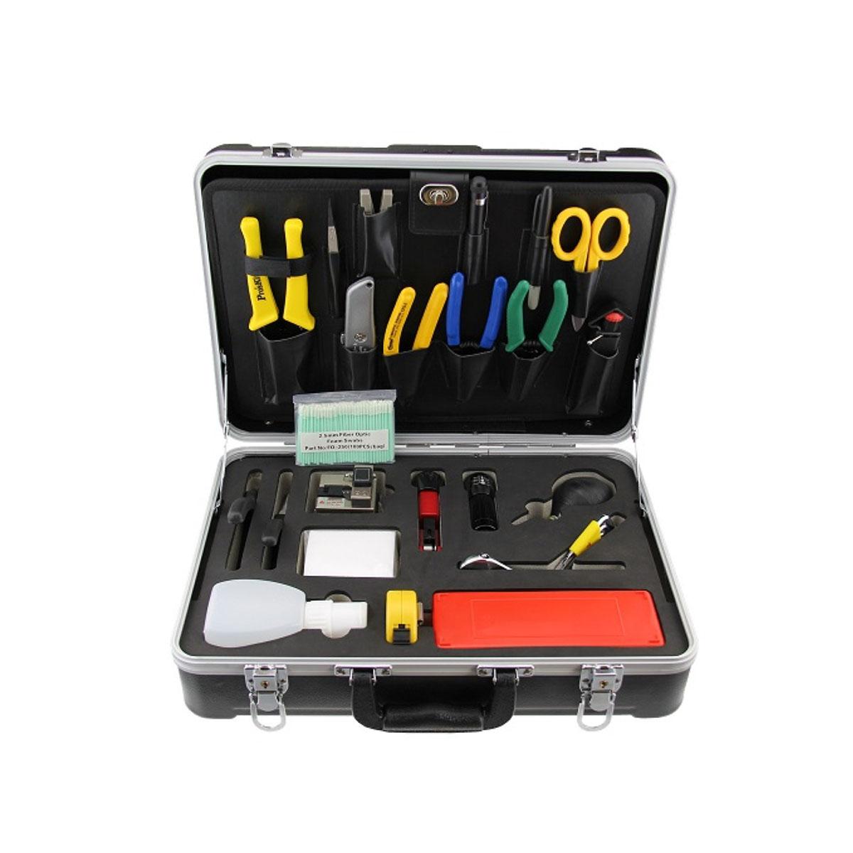 Kit de herramientas de fibra optica FTTx OREN OR-6500