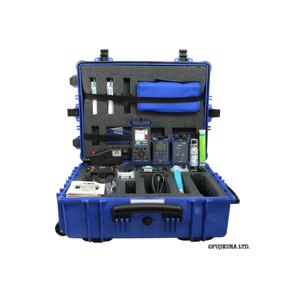 Kit de instalación Fibra optica AFL FTK PRO