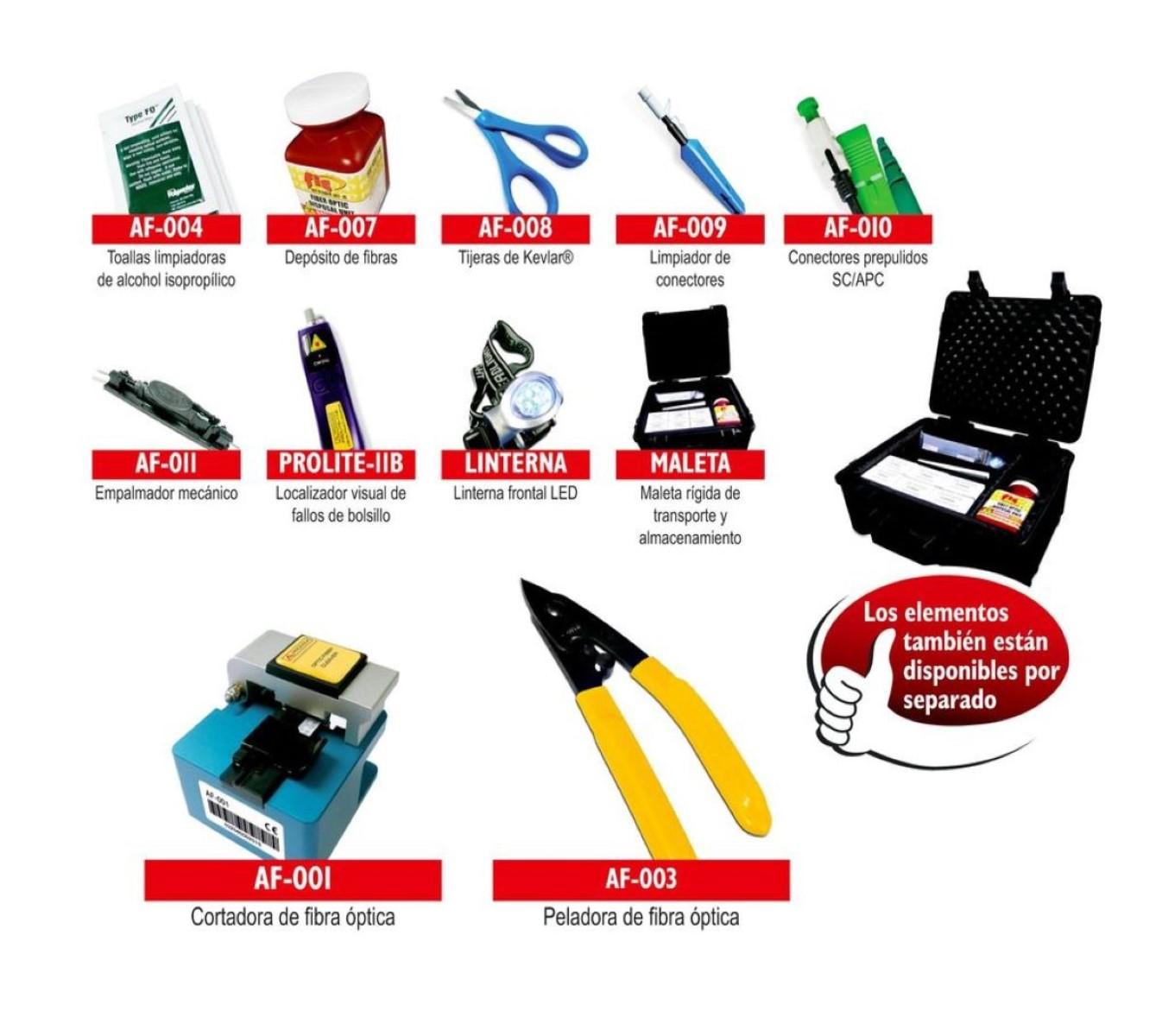 Kit de conectorización ProMax PL-10