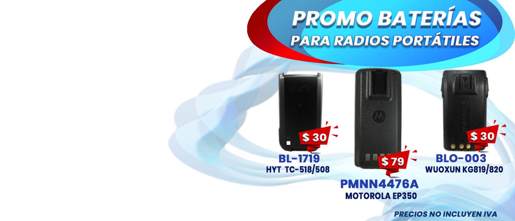 Radios Motorola, radios portatiles
