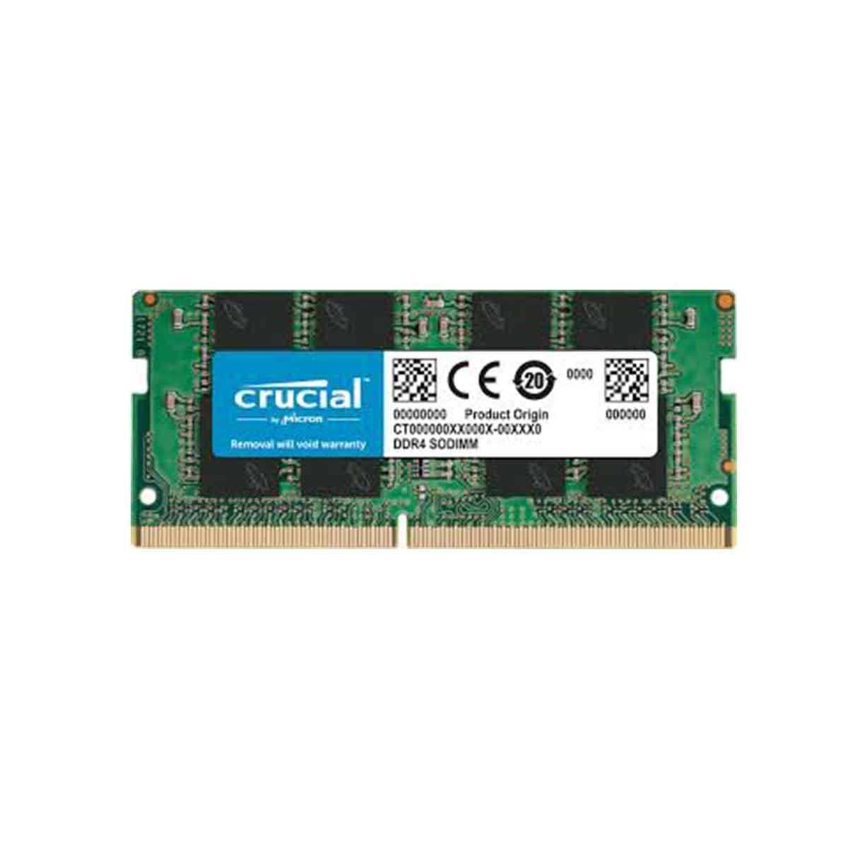 MEMORIA CRUCIAL 16GB DDR4 2666 SODIM CT16G4SFRA266
