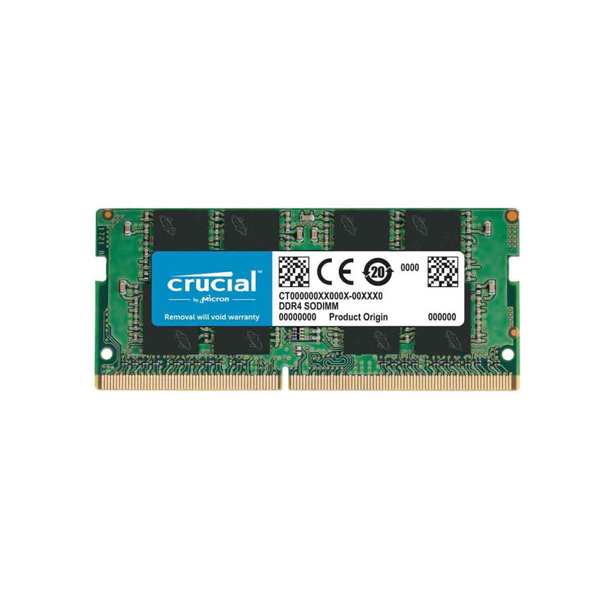 MEMORIA CRUCIAL 8GB DDR4 2666 Mhz SODIMM CT8G4SFS8266