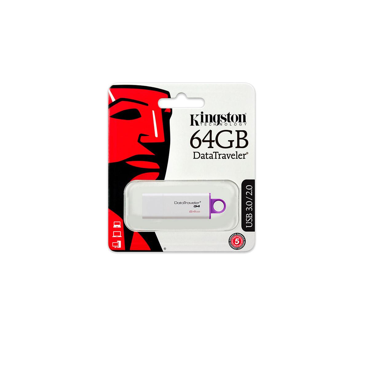 Pendrive Kingston 64GB USB Data Traveler DTIG4/64GB