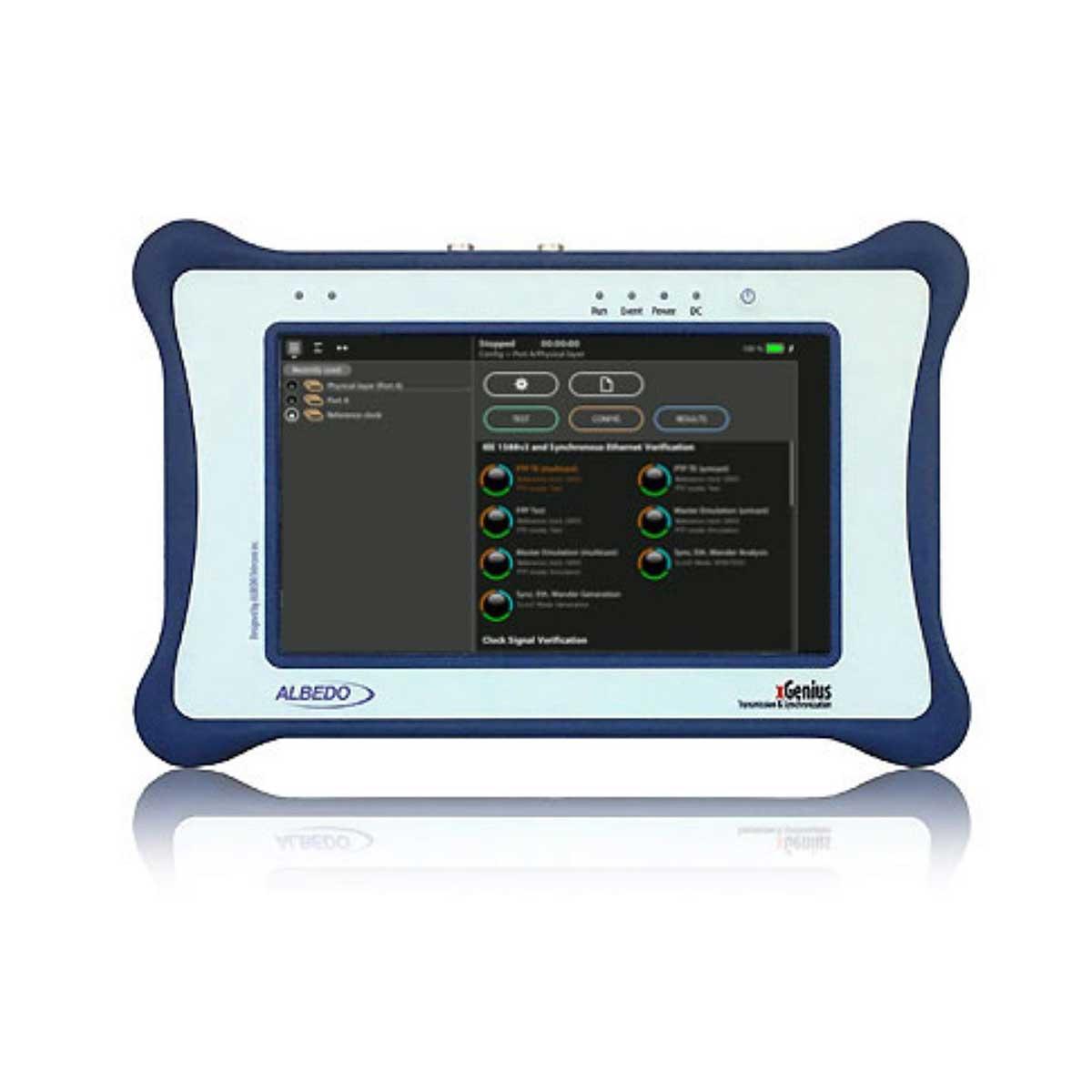 Probador Ethernet / PTP / SyncE T1 / E1 / E0 / Datacom C3794 / OWD Albedo xGenius xGenius