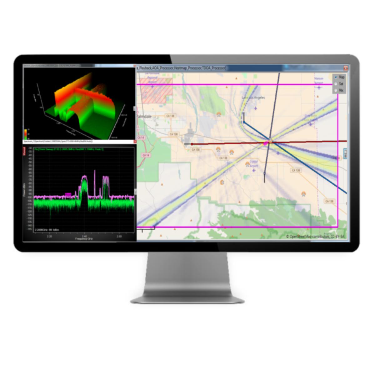 Gestión de espectro automatizadan CRFS Misión RFeye Mision-RFEYE