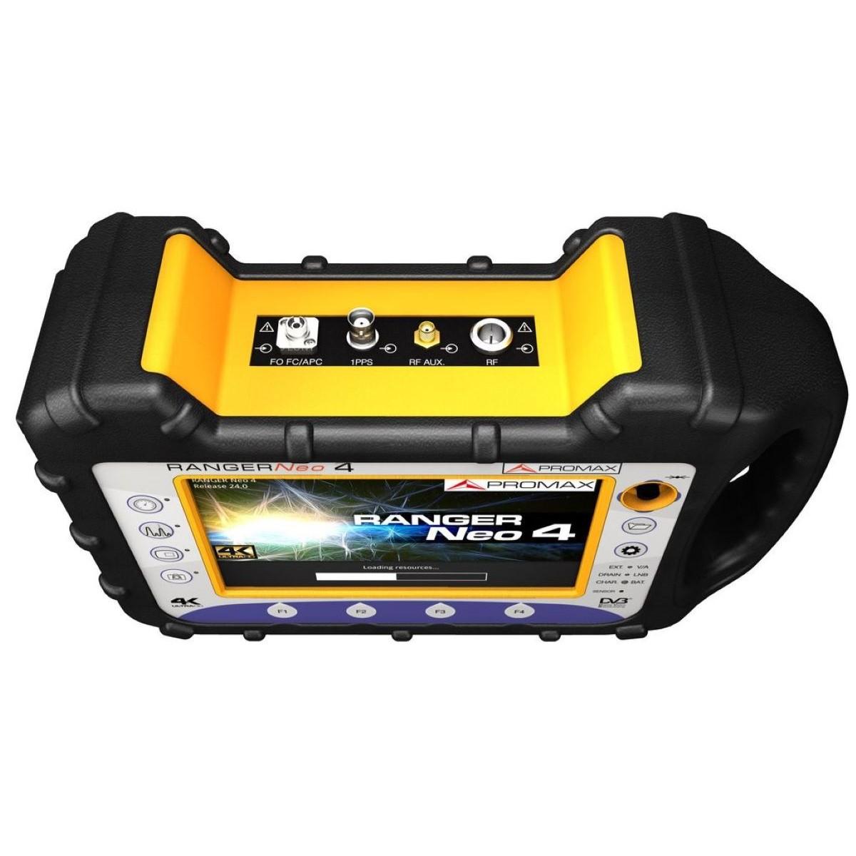 Medidor de campo de gama alta con descodificador 4K ProMax RANGERNeo