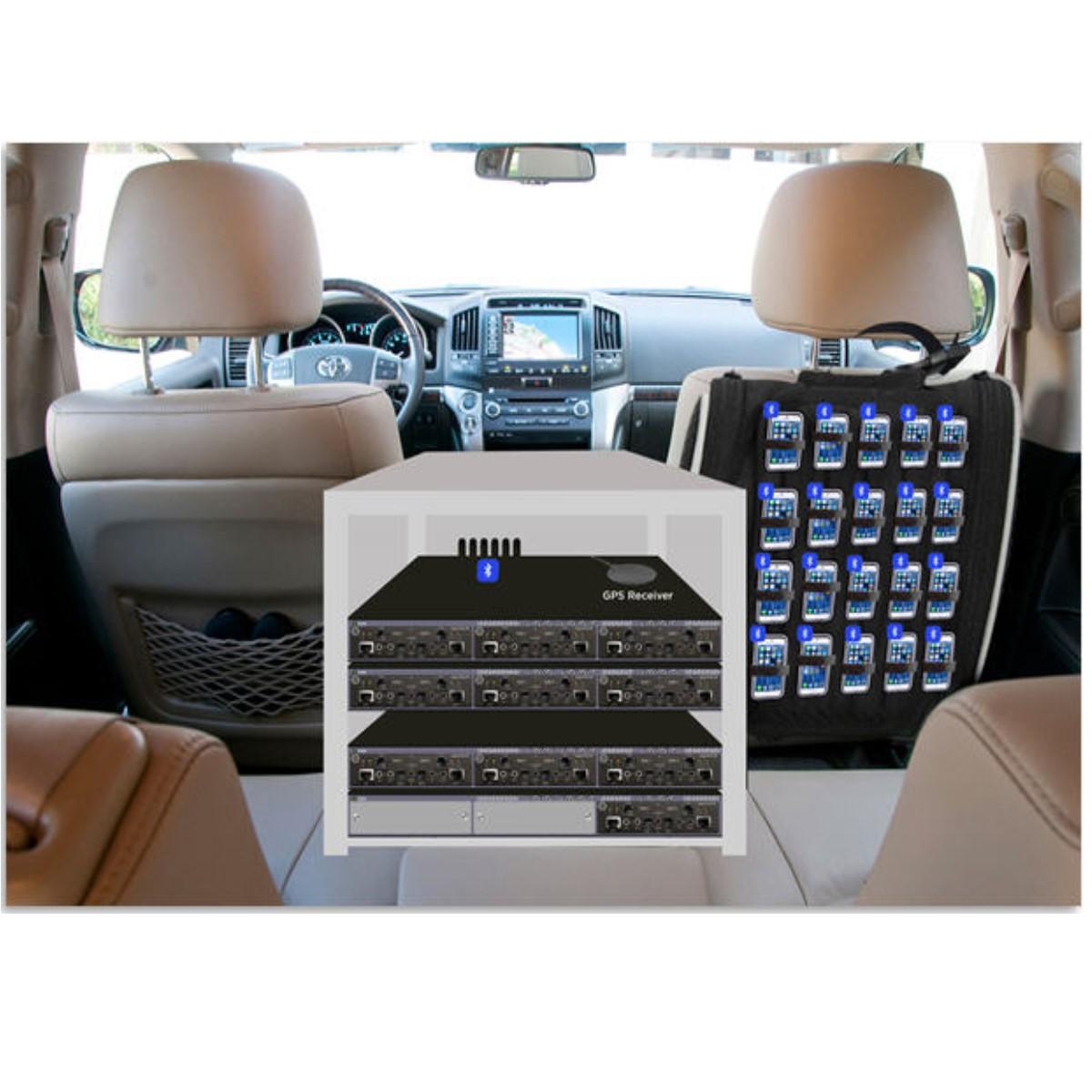 Prueba de covertura de señal GL DRIVE TESTING WirelessDrive-Test