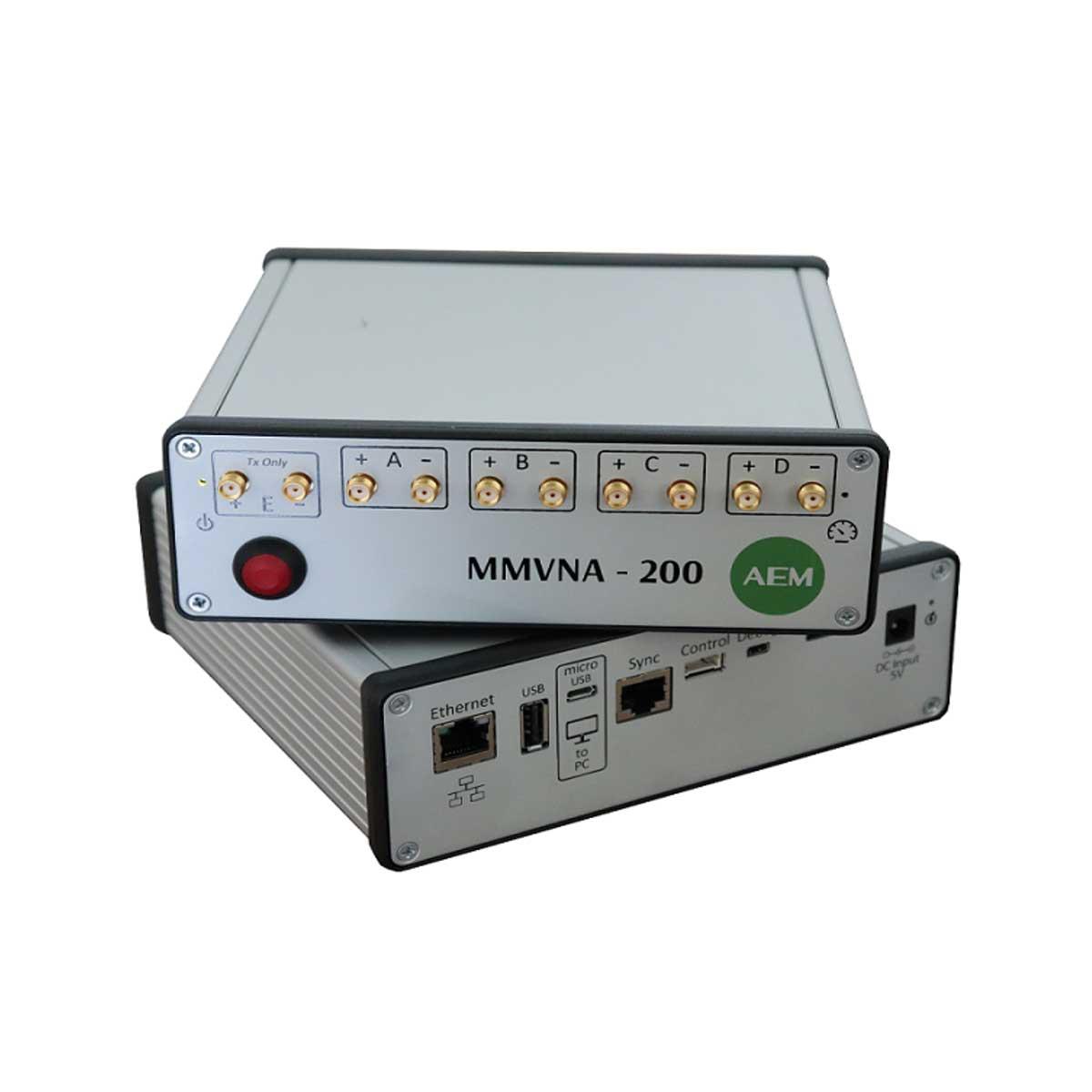 Analizador de redes vectoriales multipuerto de modo mixto AEM   MMVNA-200