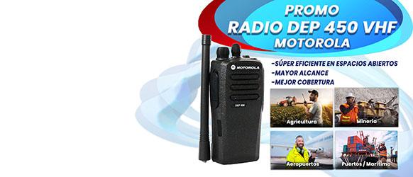 PROMOCION RADIO DEP 450