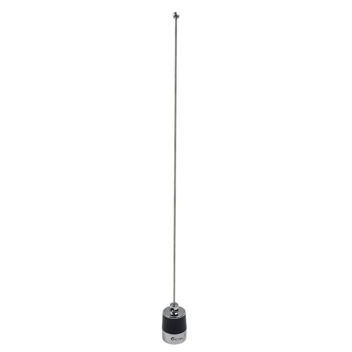 Antena Pctel para radio base VHF 144-174 MHz tipo látigo MHB-5800
