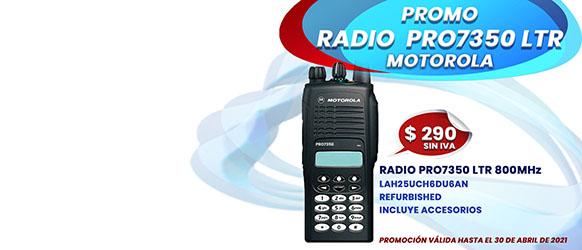 PROMOCION RADIO PRO7350