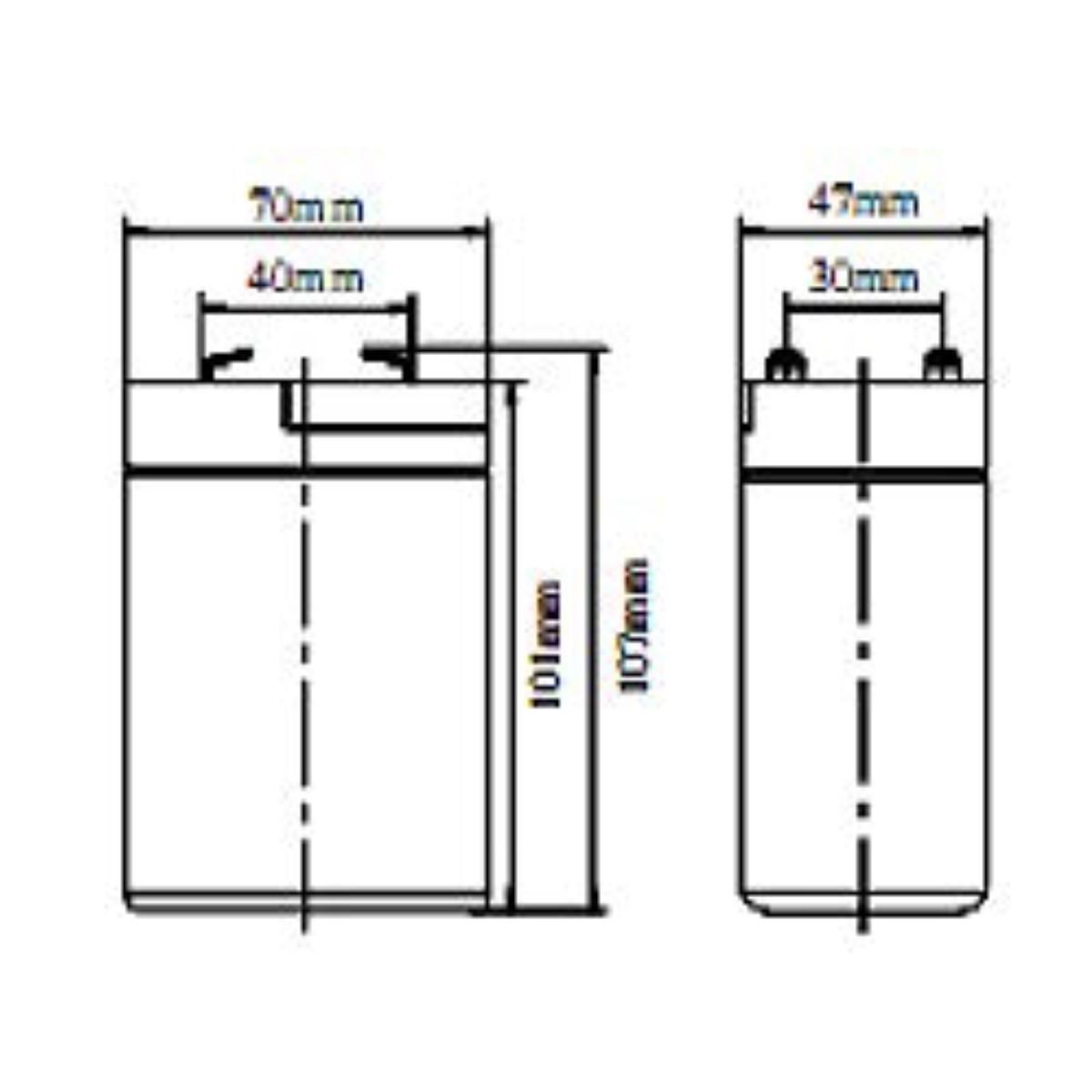 Batería 6V 4-5AH Koyosonic AGM-NP45-6 4-5Ah 6V