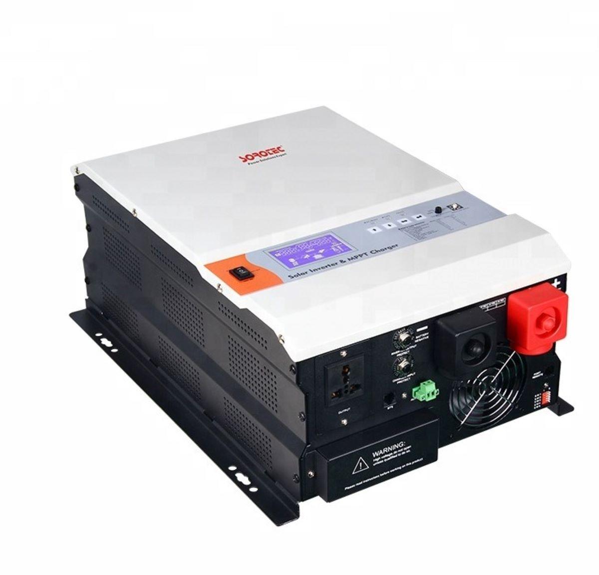 Inversor solar de onda sinusoidal pura baja frecuencia con controlador de carga solar SOROTEC MPPT SSP3115C 3KW