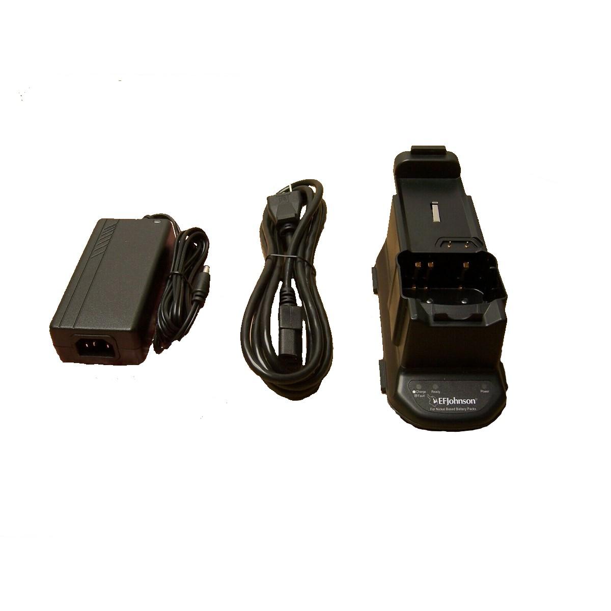 Cargador individual EFJohnson 250-5100-210 para radio 5100ES