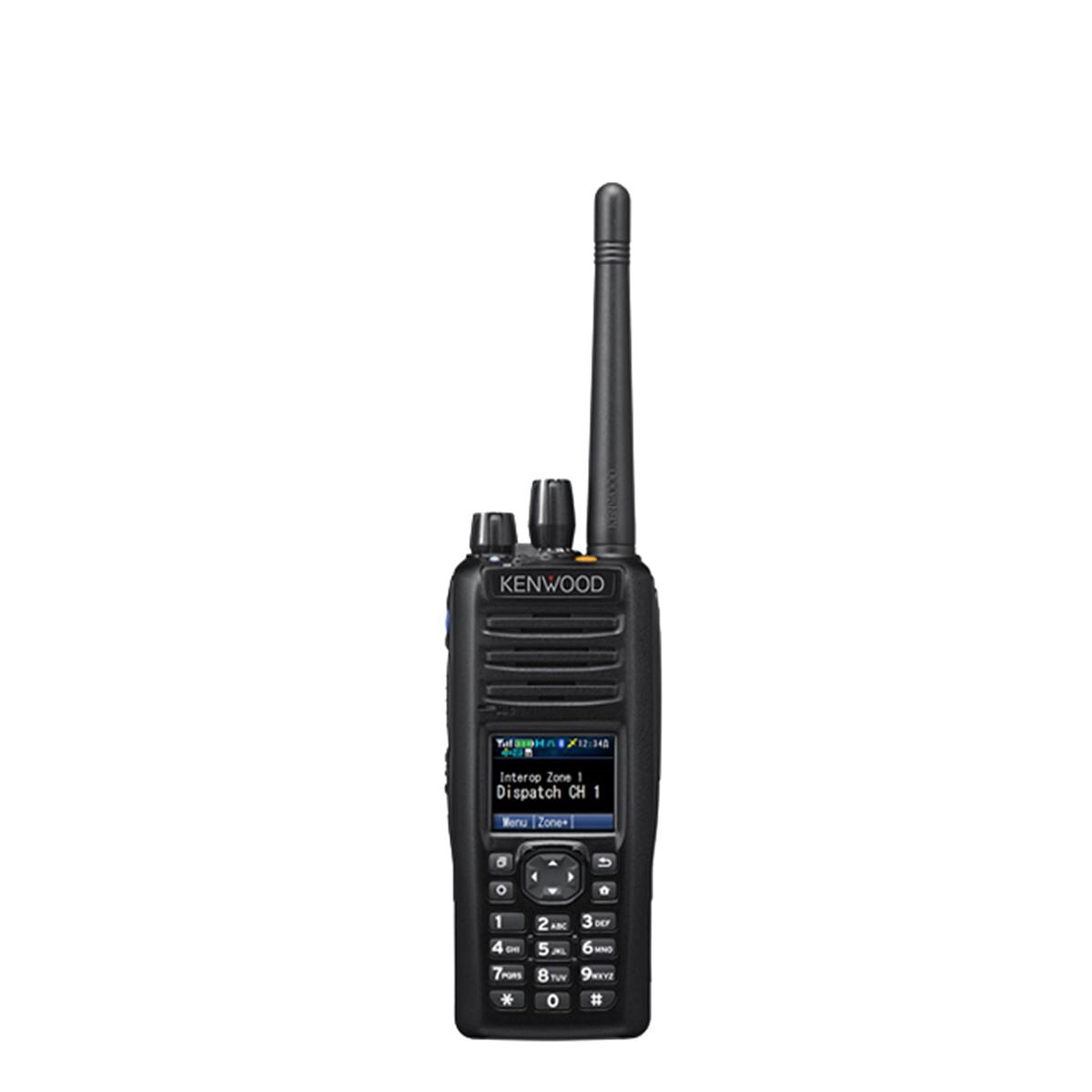 Radio Kenwood Digital NX-5400 700/800 MHz con teclado completo
