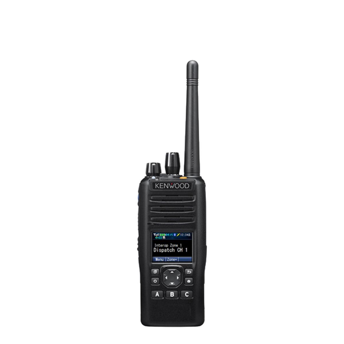 Radio Kenwood Digital NX-5400 700/800 MHz con teclado limitado