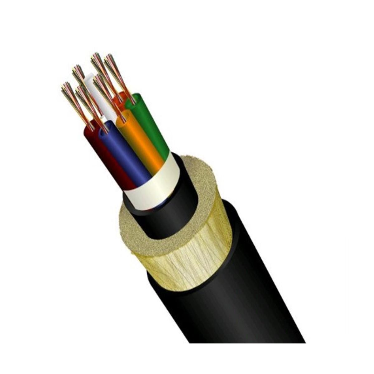 Cable de fibra optica Changguang ADSS Auto Soportada NO METALICO G652d / G657A1 / A2