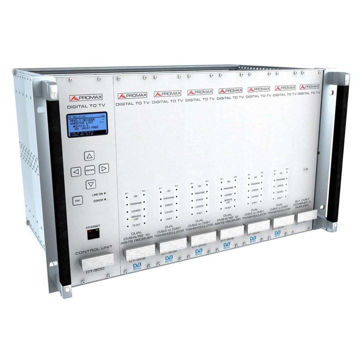 Amplificador de potencia de 30 dBm DVB-T 1 W ProMax DT-730