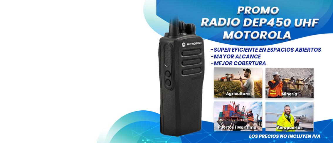 Oferta Promocion Radio Motorola DEP450 UHF